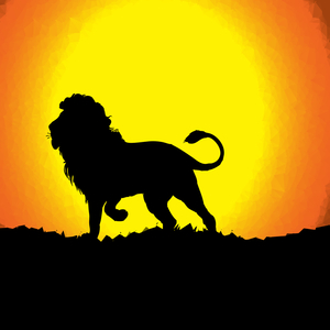 Graphic Lion Animal