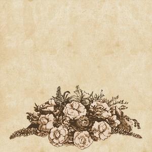 Vintage Flower Nature