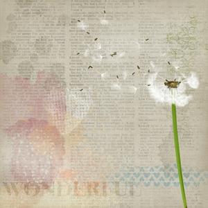 Vintage Dandelion Flower