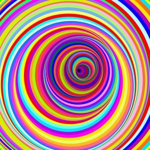 Hypnotic Psychedelic Vertigo Hole