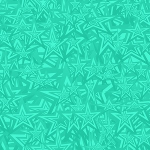 Colorful Aqua Abstract Design