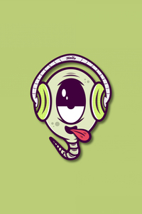 Music Buff On Green