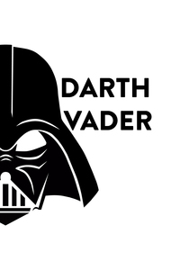 Star Wars Darth Vader Black