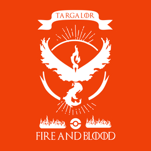 Pokemon Go Team Valor Fire And Blood