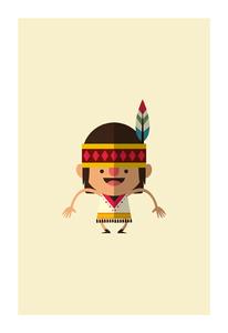 Dancing Indian Girl