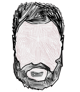 Beard Abstract Pattern