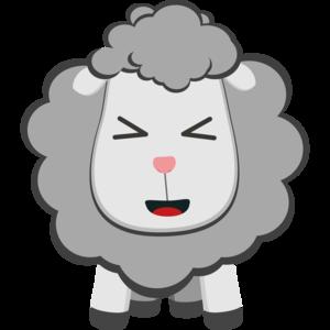 Happy Kawaii Sheep