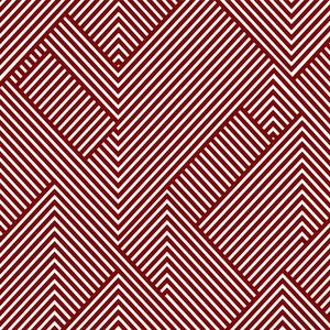Diagonal Stripes Red