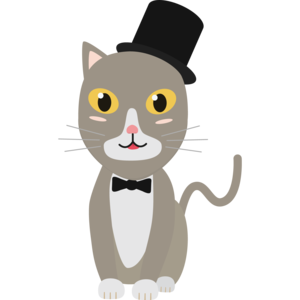 Gentleman Cylinder Cat