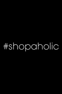 Hast Tag Shopaholic