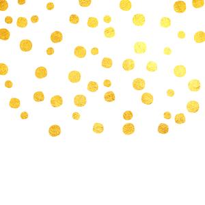 Gold Foil Confetti 1