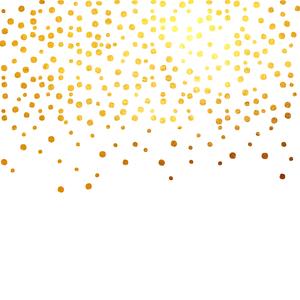 Gold Foil Confetti 2