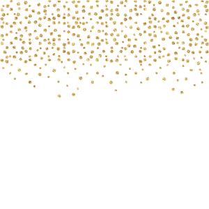 Gold Foil Confetti 3