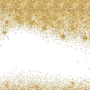 Gold Foil Confetti 5