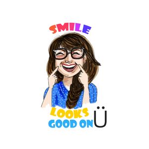 Smile Looks Good On U