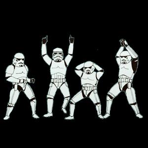 Baraati Troopers On Black