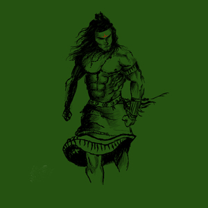 Mahadev In Green