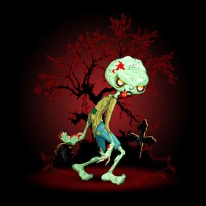 Zombie Creepy Monster Cartoon