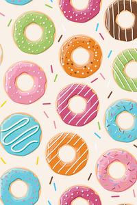 Multicolor Donuts