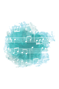 Musical Notes On Blue