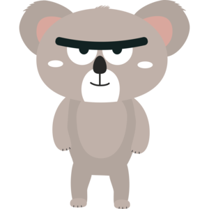 Big Brow Koala