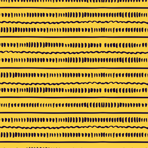Abstract Lines On Yellow