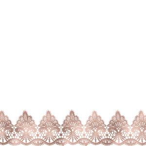 Vintage Bridal Shabby Chic Pink Lace On White 2