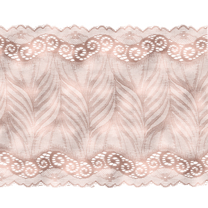 Vintage Bridal Shabby Chic Pink Lace On White 5