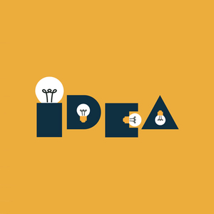 Idea Bulb Yellow