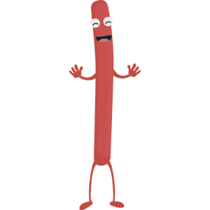 Laughing Sausage Guy