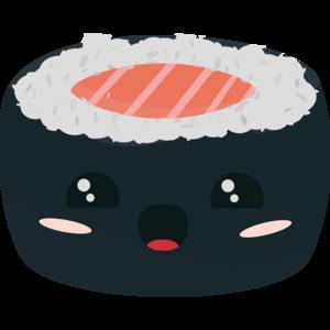 Kawaii Sushi With Salmon