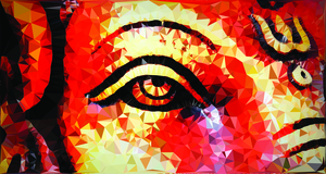 Ganpati Bappa Eye