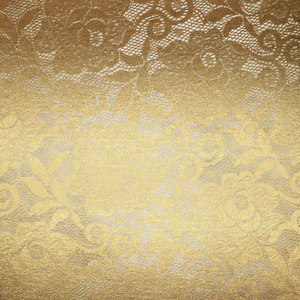 Gold Luxury Floral Lace On Wooden Texture 2