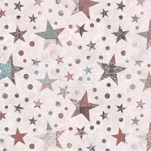 Vintage Patchwork Stars