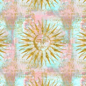 Golden Sun Baroque Artwork