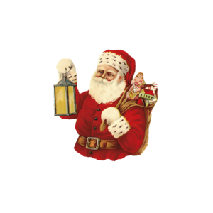 Friendly Vintage Santa Claus