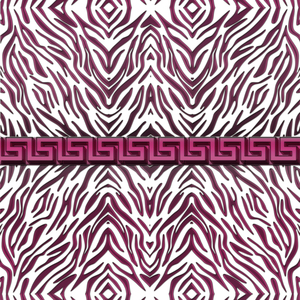 Zebra Pink Pattern