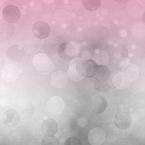 Grey Pink Bokeh