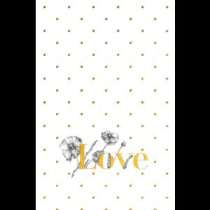 Love Polka Dots Cute Design