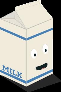 Cute Kawaii Milk Carton