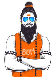 Traditional Baba In Western Avatar