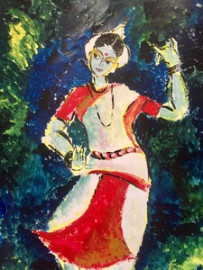 Ithihasa Classical Dancer