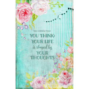 Thougths Life Vintage Flowers Roses