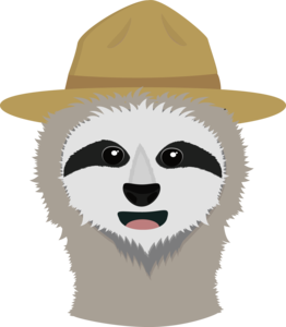 Ranger Sloth With Hat
