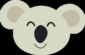 Happy Koala Head 2