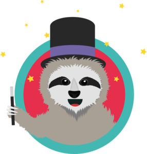Magican Sloth With Wand