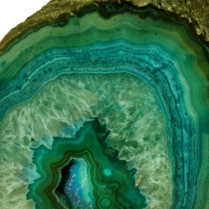 Green Agate Gem Stone