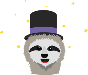 Sloth Wizard With Head