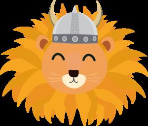 Viking Lion Head