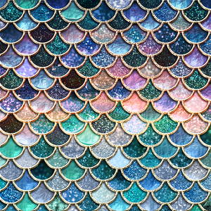 Luxury Mermaid Scales